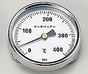 アズワン バイメタル温度計 1-600-02 《計測・測定・検査》