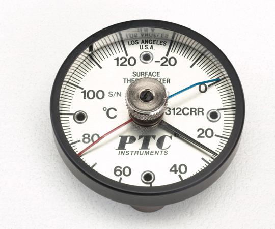 アズワン バイメタル表面温度計 1-9897-04 《計測・測定・検査》
