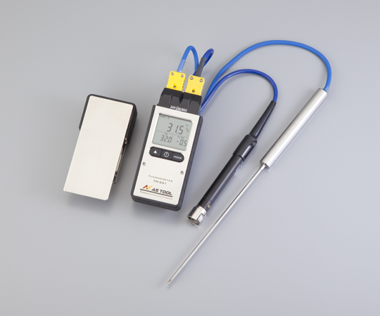 アズワン エクスポケット熱電対温度計 2-3362-02 《計測・測定・検査》