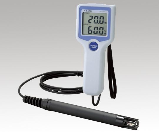 アズワン デジタル温湿度計 1-9901-01 《計測・測定・検査》