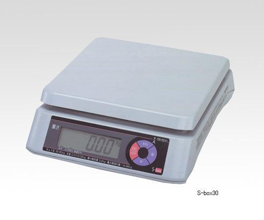 アズワン 上皿型重量はかり 1-8050-02 《計測・測定・検査》