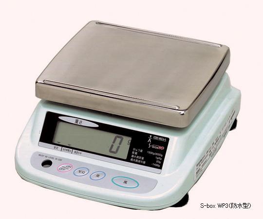 アズワン 上皿型重量はかり 1-8050-05 《計測・測定・検査》
