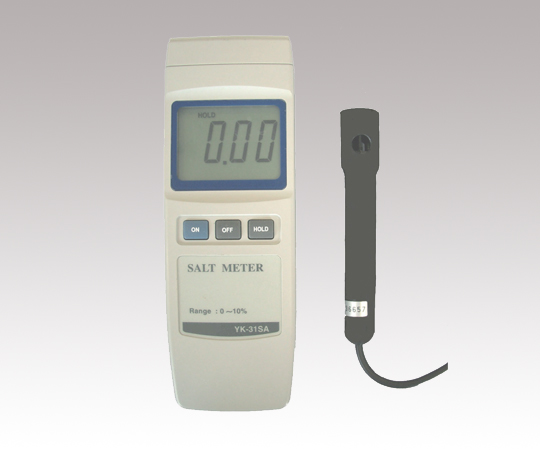 アズワン デジタル塩分濃度計 1-6556-01 《計測・測定・検査》