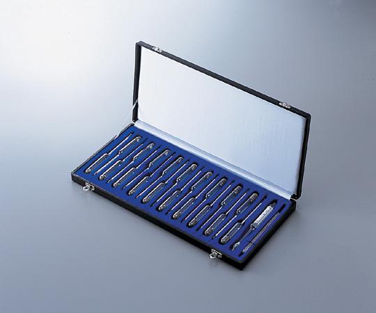 アズワン 標準比重計 (小型19本組) 1-5659-01 《計測・測定・検査》