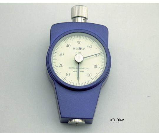アズワン ゴム硬度計 1-6462-16 《計測・測定・検査》