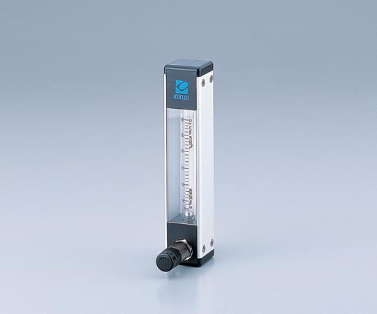 アズワン パージ流量計(精密ニードルバルブ付き) 1-8555-03 《計測・測定・検査》