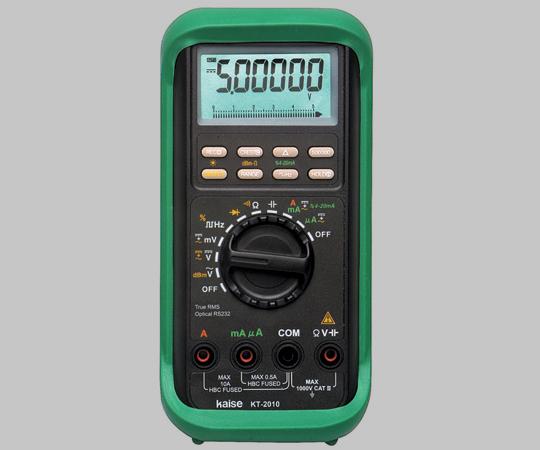アズワン 高性能デジタルマルチメーター(PC接続対応) 1-8717-01 《計測・測定・検査》