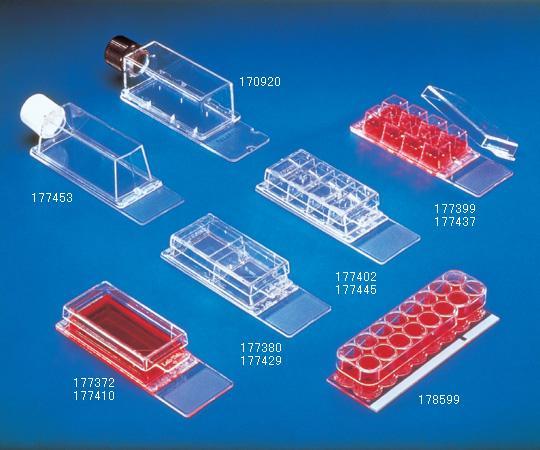 アズワン ラブテックチェンバースライド 2-5461-01 《ライフサイエンス・分析》