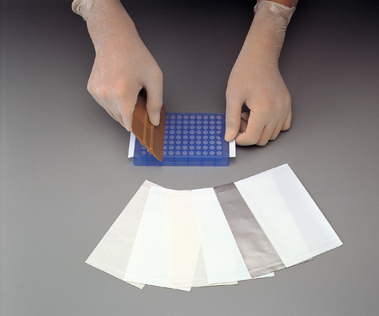 【直送品】 アズワン マイクロプレートシーリングテープ 2-5747-01 《ライフサイエンス・分析》