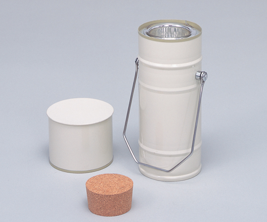アズワン デュワー瓶円筒型 5-245-05 《ライフサイエンス・分析》