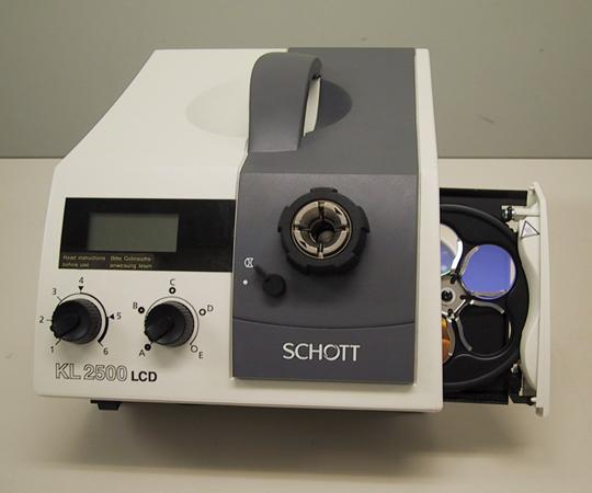 アズワン ファイバーオプティックライトソース 1-8799-17 《計測・測定・検査》