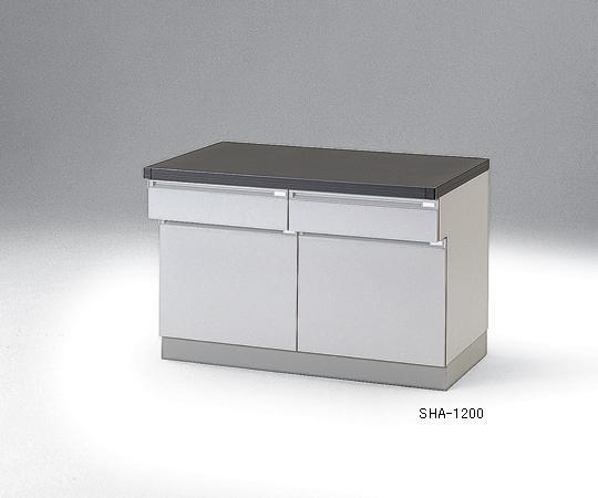 【代引不可】 アズワン サイド実験台(木製タイプ) 3-5693-01 【特大】《ラボファニチャー》 【メーカー直送品】