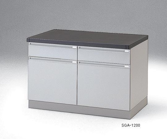 【代引不可】 アズワン サイド実験台(木製タイプ) 3-5813-04 【特大】《ラボファニチャー》 【メーカー直送品】