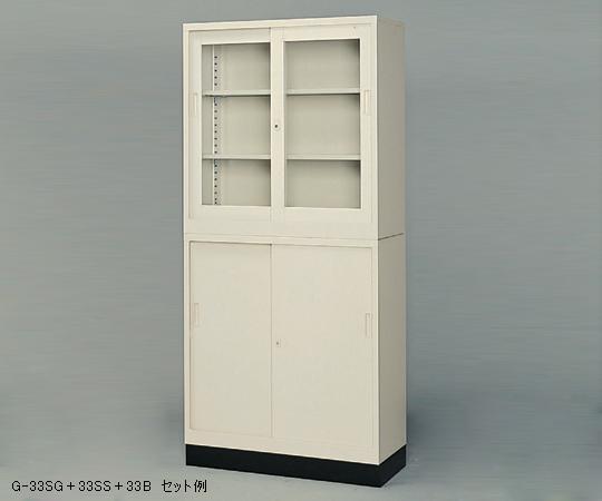 【直送品】 アズワン スチール保管庫(奥行400mm) 1-9249-02 【大型】《実験設備・保管》 【特大・送料別】