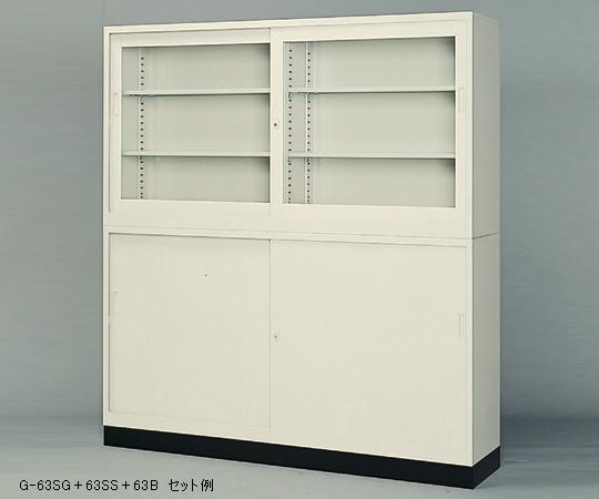 【直送品】 アズワン スチール保管庫(奥行400mm) 1-9249-05 【大型】《実験設備・保管》 【特大・送料別】
