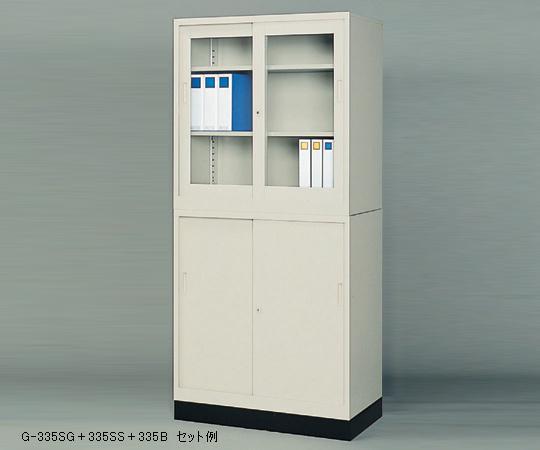 【直送品】 アズワン スチール保管庫(奥行515mm) 1-9250-02 【大型】《実験設備・保管》 【特大・送料別】
