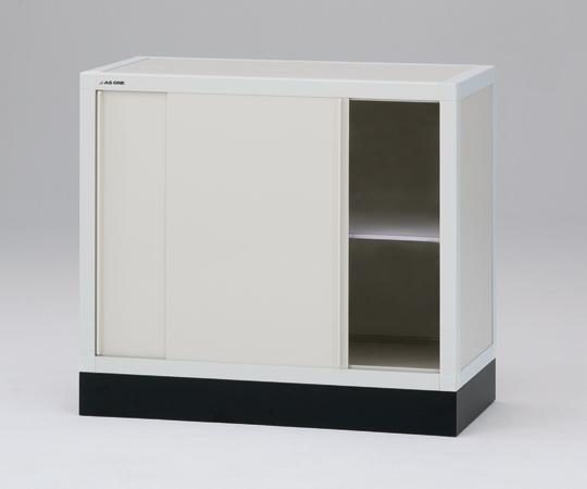 【直送品】 アズワン ユニット型塩ビ薬品庫(下段ユニット) 1-1631-04 【大型】《実験設備・保管》 【特大・送料別】