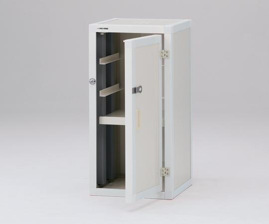 【直送品】 アズワン ユニット型塩ビ薬品庫(上段ユニット) 1-2164-01 【大型】《実験設備・保管》 【特大・送料別】