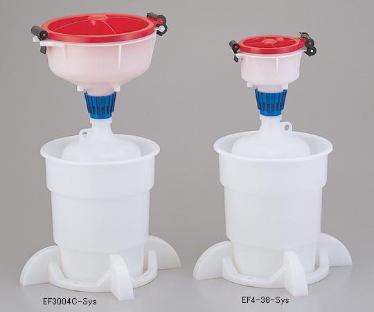 アズワン 廃液回収システム 1-7285-02 《実験設備・保管》