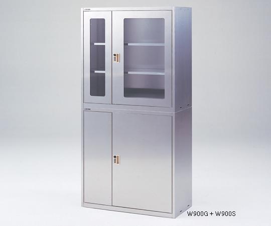 【直送品】 アズワン 耐震薬品庫(薄型) 2-7990-02 【大型】《実験設備・保管》 【特大・送料別】