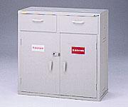 【直送品】 アズワン 強化塩ビ製薬品庫 3-070-03 【大型】《実験設備・保管》 【特大・送料別】