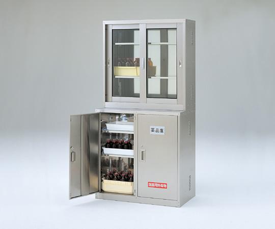 【直送品】 アズワン 薬品庫 3-1122-12 【大型】《実験設備・保管》 【特大・送料別】