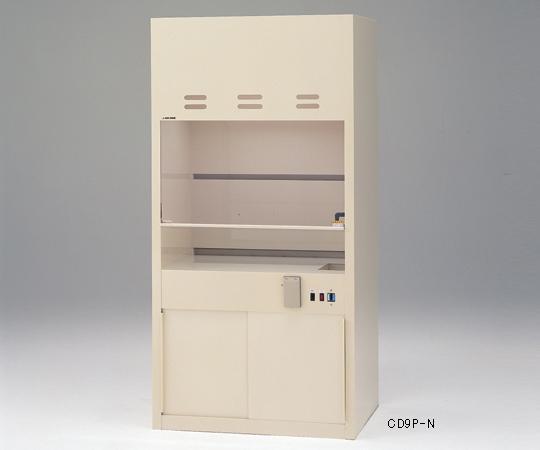 【代引不可】 アズワン コンパクトドラフト900(PVC製) 3-4047-21 【特大】《グローブボックス》 【メーカー直送品】