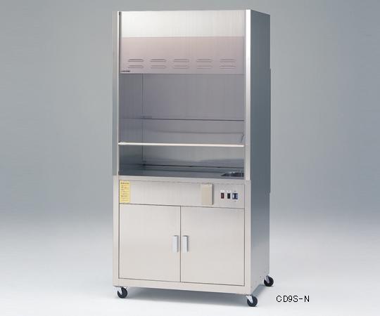【代引不可】 アズワン コンパクトドラフト900(ステンレス製) 3-4048-24 【特大】《グローブボックス》 【メーカー直送品】