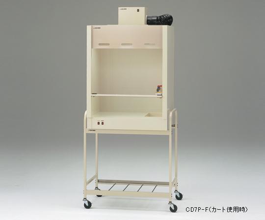 【直送品】 アズワン コンパクトドラフト700(PVC製) 3-4056-26 【大型】《実験設備・保管》 【特大・送料別】
