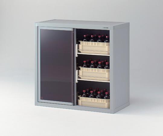 【直送品】 アズワン 塩ビ製薬品保管庫 3-5036-01 【大型】《実験設備・保管》 【特大・送料別】