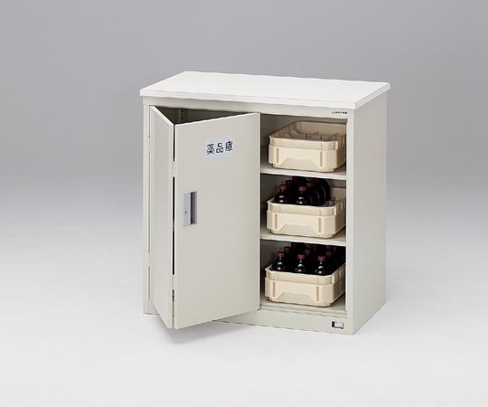 【代引不可】 アズワン スライド扉型薬品庫 3-530-11 【大型】《薬品庫》 【メーカー直送品】