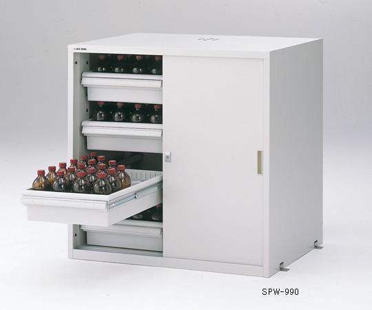 アズワン 薬品庫用オプション レール棚 3-5345-11 《実験設備・保管》