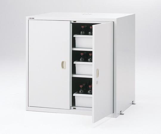 【直送品】 アズワン 耐震薬品庫(スチール製) 3-5345-22 【大型】《実験設備・保管》 【特大・送料別】