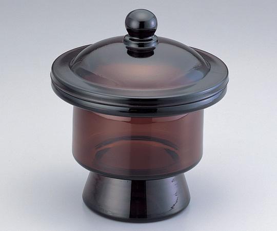 アズワン デシケーター (並型・茶) 1-9755-02 《デシケーター》