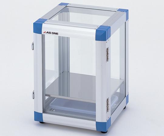 アズワン ポータブルデシケーター (強化ガラス仕様) PHG (2-7817-01) 《デシケーター》