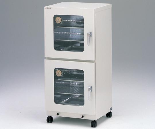 【直送品】 アズワン ステンレスデシケーター 2型 (1-5442-01) 【大型】《実験設備・保管》 【特大・送料別】