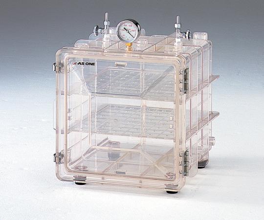 アズワン 成形真空デシケーター MVD-100 (1-6158-01) 《実験設備・保管》