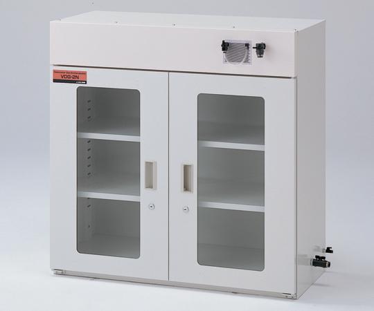 【代引不可】 アズワン ガス置換デシケータ (マノメータ付) VDG-2N (2-7887-02) 【大型】《デシケーター》 【大型】