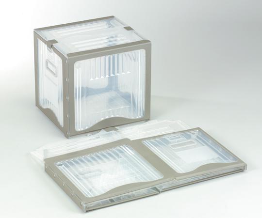 アズワン 折りたたみコンテナー (リスボックス) 40B (2-7563-07) 《容器・コンテナー》