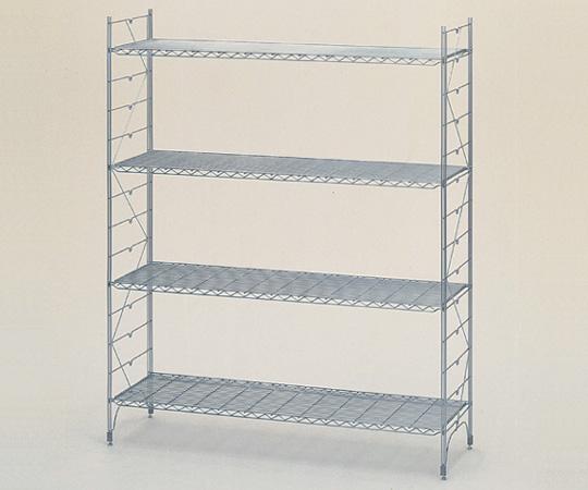 アズワン スタンダードエレクターシェルフ標準セット LL1520 (3-313-01) 《収納・整理・保管》