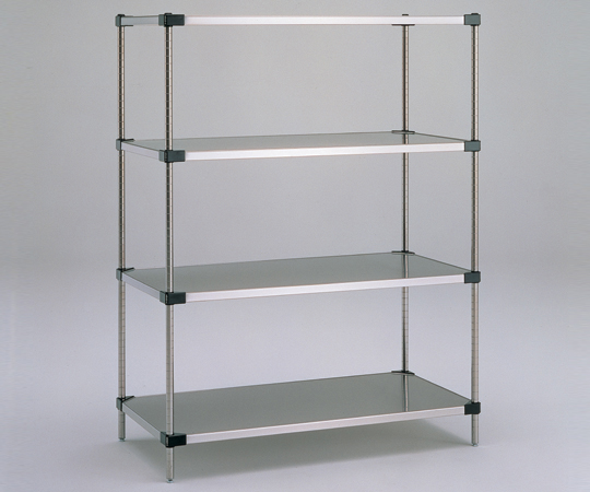 アズワン ソリッドエレクターシェルフ標準セット MSS1520SET (1-4582-02) 《実験設備・保管》