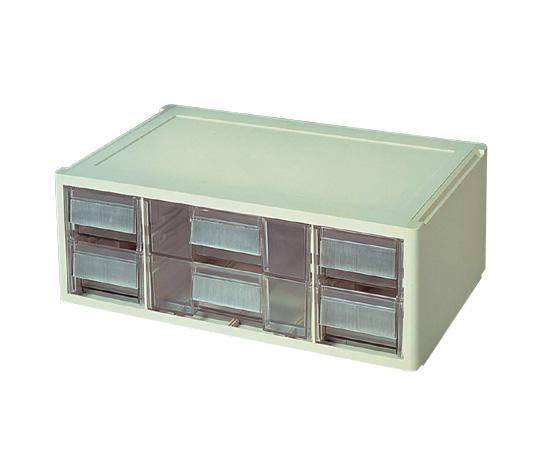 アズワン ワーキングボックス W222 (3-261-04) 《実験設備・保管》