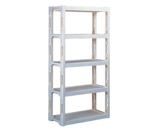 【代引不可】 アズワン 組立棚 ブルー (3-4012-01) 《収納・整理・保管》 【メーカー直送品】