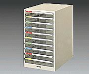 アズワン レターケース (B8) B4-10P (3-290-05) 《実験設備・保管》
