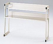 【直送品】 アズワン コンビベンチ (多目的組み合わせベンチ) 上部棚セット (3-4054-02) 《実験設備・保管》