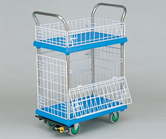 【代引不可】 アズワン シズカル(R)運搬車 (2段式) MMT-NKK (0-1692-01) 《ワゴン・台車・脚立》 【メーカー直送品】