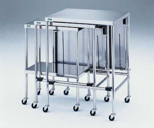 【直送品】 アズワン 器械卓子 (重ね収納型) NSW-W (0-5569-01) 《実験設備・保管》