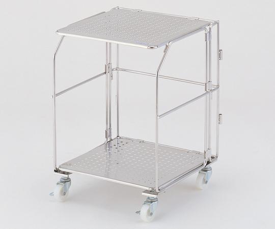【直送品】 アズワン 実験台下折りたたみワゴン (UT-Lab.) SC-UT (1-5994-01) 《実験設備・保管》
