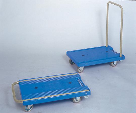 【代引不可】 アズワン 環境静音樹脂台車 NP-306GS (1-7773-02) 《ワゴン・台車・脚立》 【メーカー直送品】