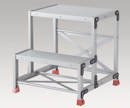 【代引不可】 アズワン 踏台 (アルミ合金製) TSF-256 (1-9523-02) 《ワゴン・台車・脚立》 【メーカー直送品】